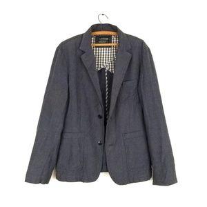 F21 marled grey blazer